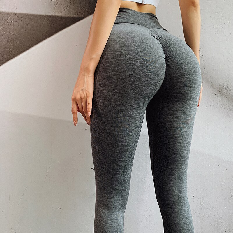 Booty Seamless Legging Sport Women Fitness High Waist Yoga Pants Fitness Gym Out